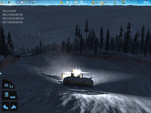 Ski-World Simulator - title cover