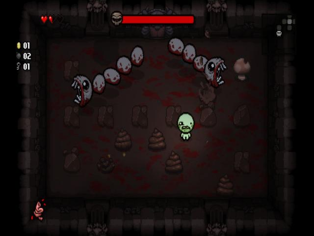 The Binding of Isaac: Rebirth - title cover