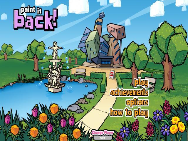 Paint it Back - title cover