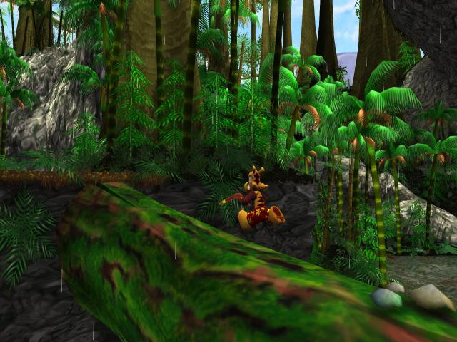 TY the Tasmanian Tiger - title cover