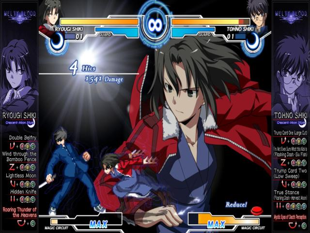 MELTY BLOOD Actress Again Current Code - title cover