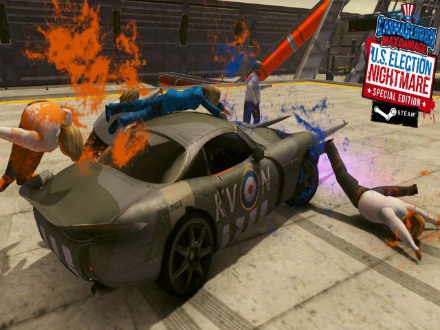 Carmageddon: Max Damage - title cover