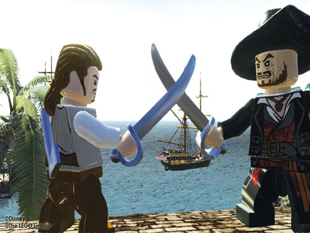LEGO Pirates of the Caribbean: The Video Game - title cover