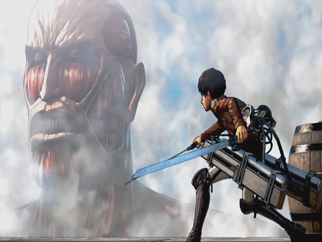 Attack on Titan / A.O.T. Wings of Freedom - game cover