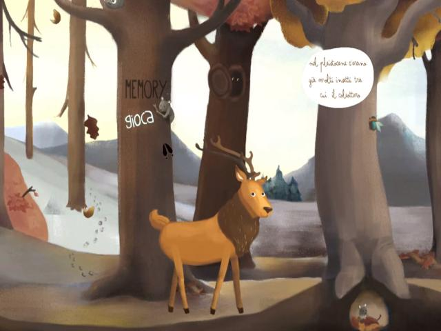 The Deer - title cover