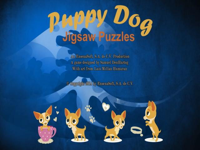 Puppy Dog: Jigsaw Puzzles - title cover
