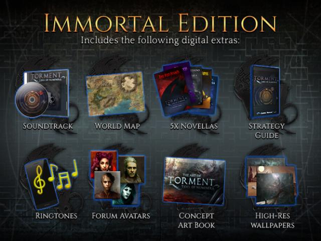 Torment: Tides of Numenera Immortal Edition - game cover