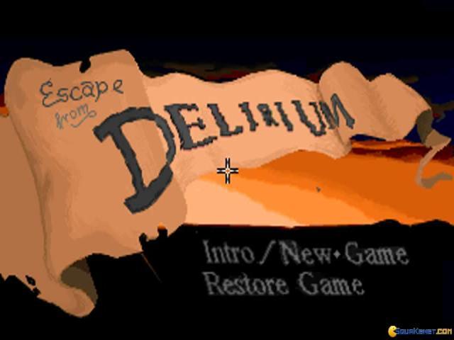 Escape from Delirium - title cover