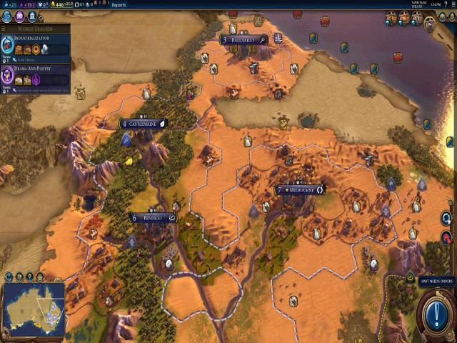 Sid Meiers Civilization VI - Australia Civilization & Scenario Pack - game cover