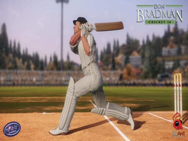 Don Bradman Cricket 14 - title cover