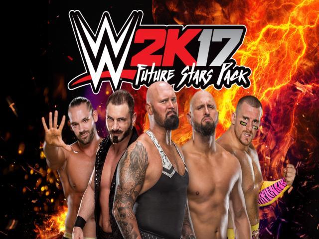 WWE 2K17 - Future Stars Pack - game cover