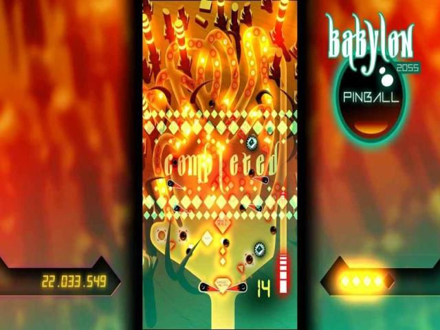 Babylon 2055 Pinball - title cover