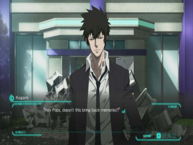 PSYCHO-PASS: Mandatory Happiness - title cover