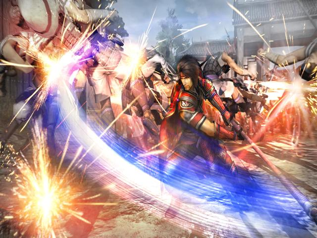 Samurai Warriors: Spirit of Sanada - title cover
