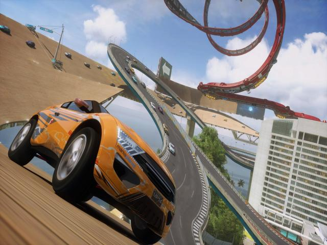 Trackmania² Lagoon - title cover