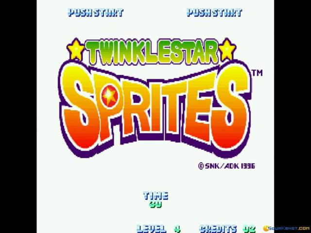 TWINKLE STAR SPRITES - title cover