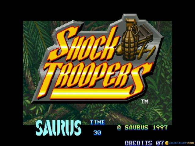 SHOCK TROOPERS - game cover