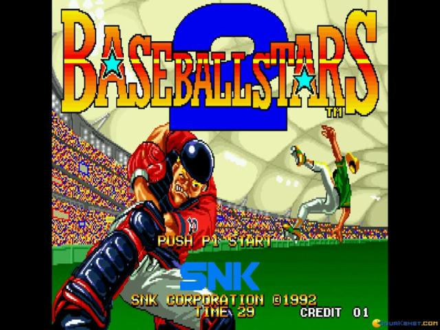 BASEBALL STARS 2 - title cover