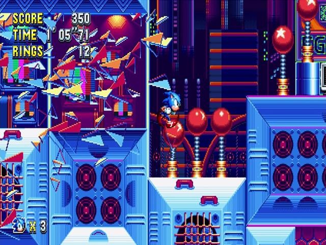 Sonic Mania - title cover