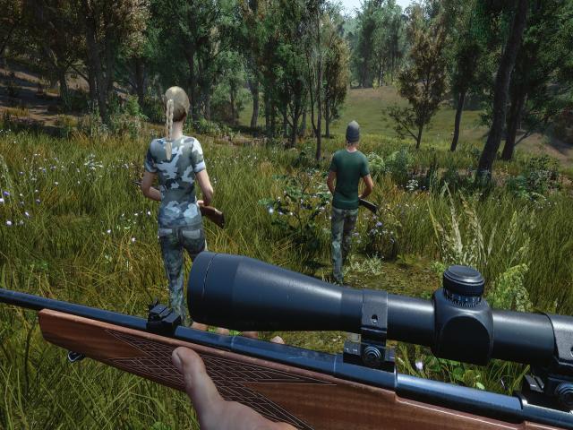Hunting Simulator - game cover