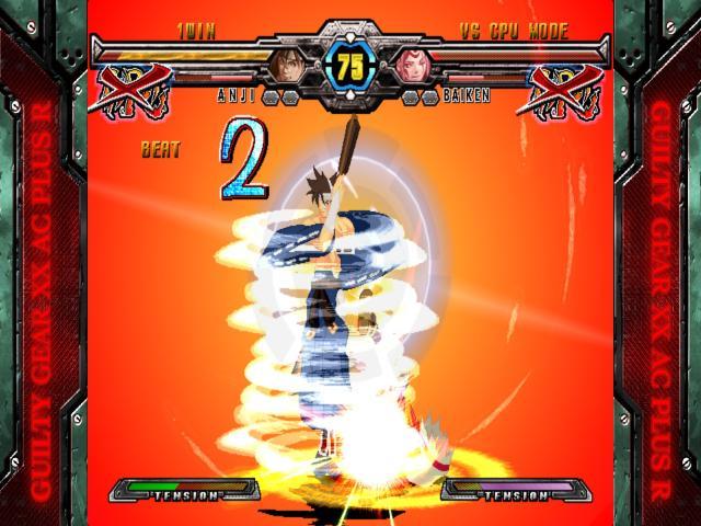 GUILTY GEAR XX ACCENT CORE PLUS R - title cover
