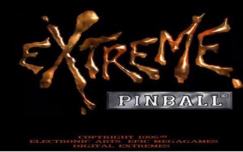 Extreme Pinball - title cover
