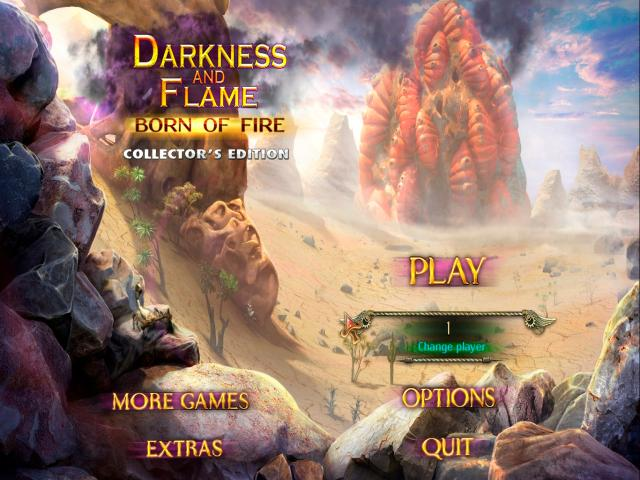 Darkness and Flame: Born of Fire - title cover