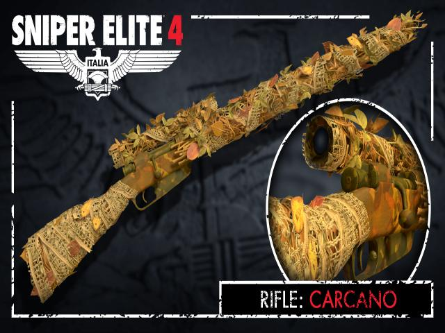 Sniper Elite 4 - Camouflage Rifles Skin Pack - game cover