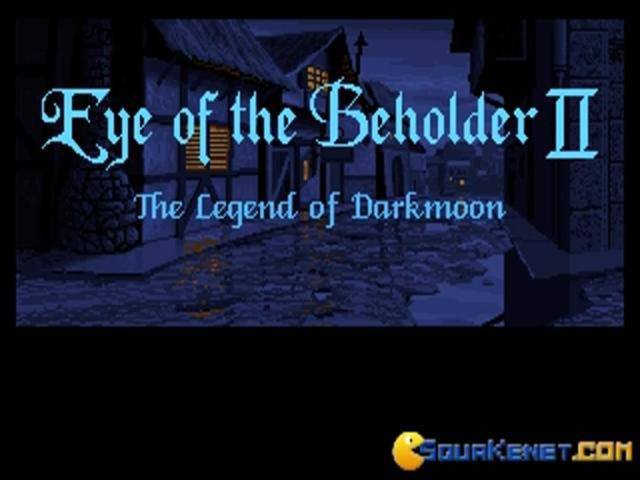 Eye of the Beholder 2 - title cover
