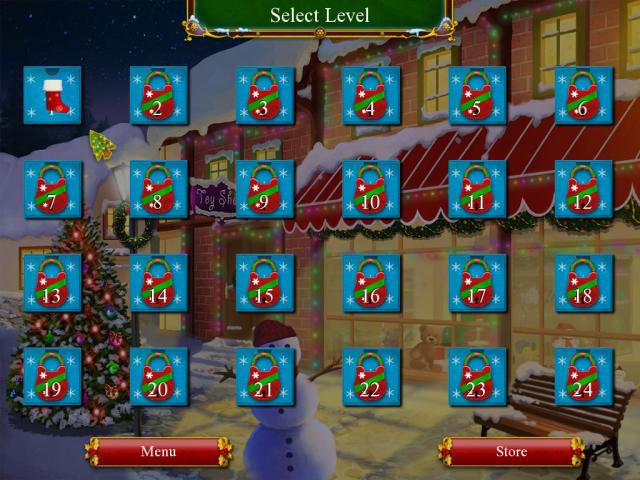Santa's Christmas Solitaire - title cover