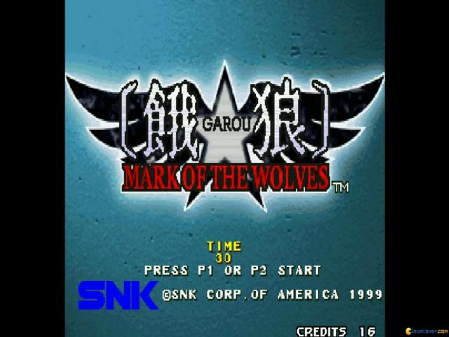 GAROU: MARK OF THE WOLVES - game cover
