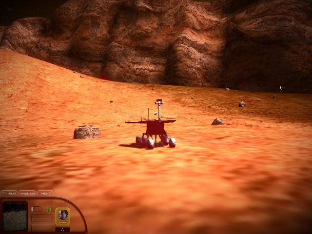 MARS SIMULATOR - RED PLANET - title cover