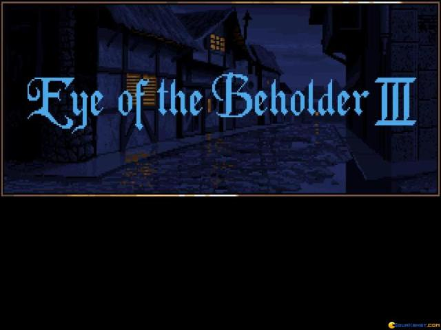 Eye of the Beholder 3 - game cover