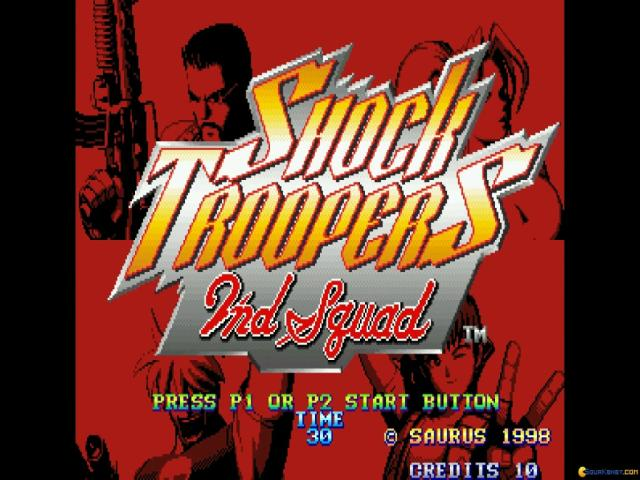 SHOCK TROOPERS 2nd Squad - game cover