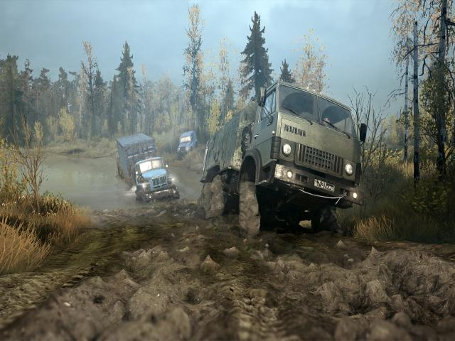 Spintires: MudRunner - title cover
