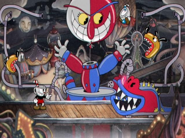 Cuphead - title cover
