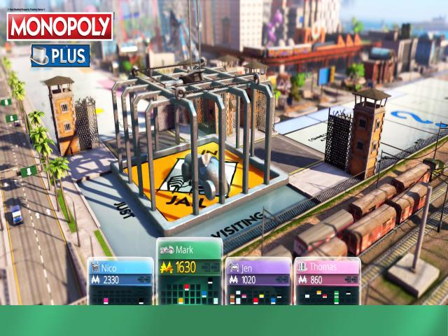 Monopoly Plus - title cover