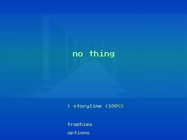 NO THING - title cover