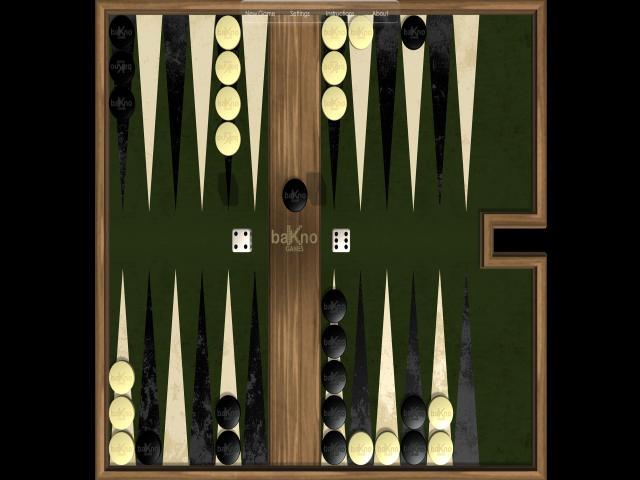 Backgammon - title cover