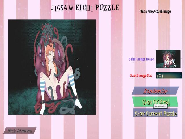 Triple Otakus Puzzle - title cover