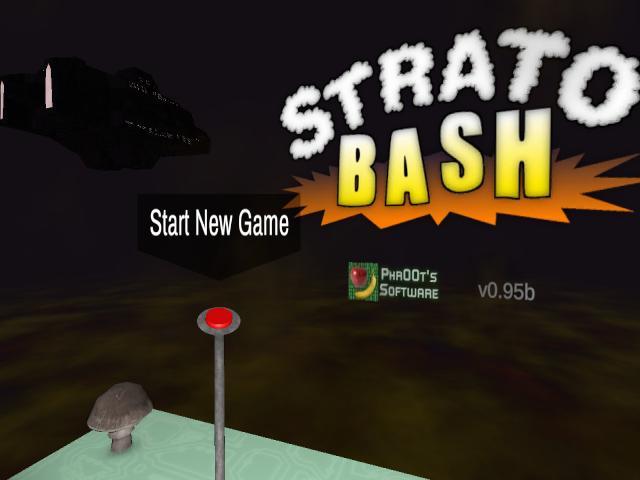 StratoBash - title cover