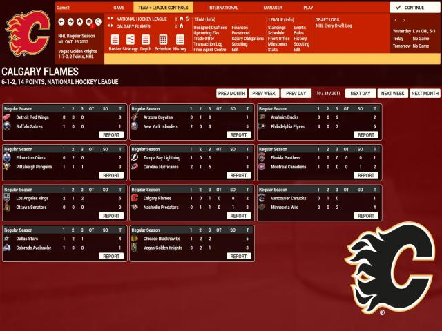 Franchise Hockey Manager 4 - title cover