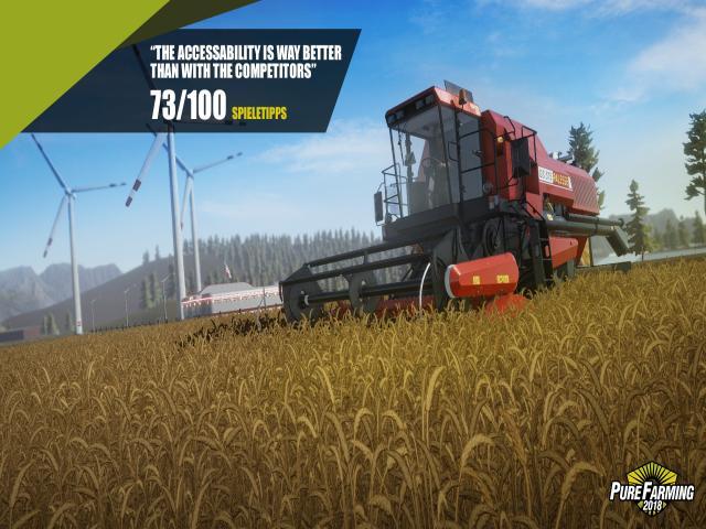 Pure Farming 2018 - game cover