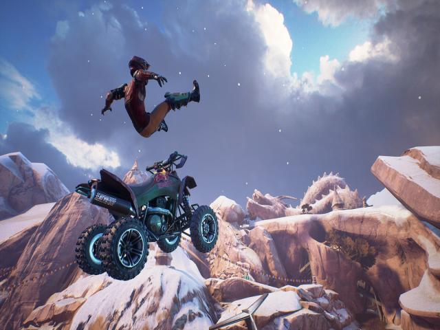 ATV Drift & Tricks - title cover