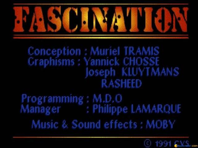 Fascination - game cover
