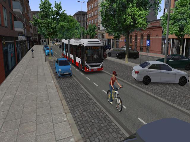 OMSI 2 - HafenCity - Hamburg modern Add-On - game cover