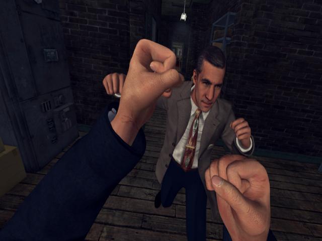 L.A. Noire : The VR Case Files - title cover