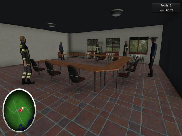 Firefighters - The Simulation - title cover