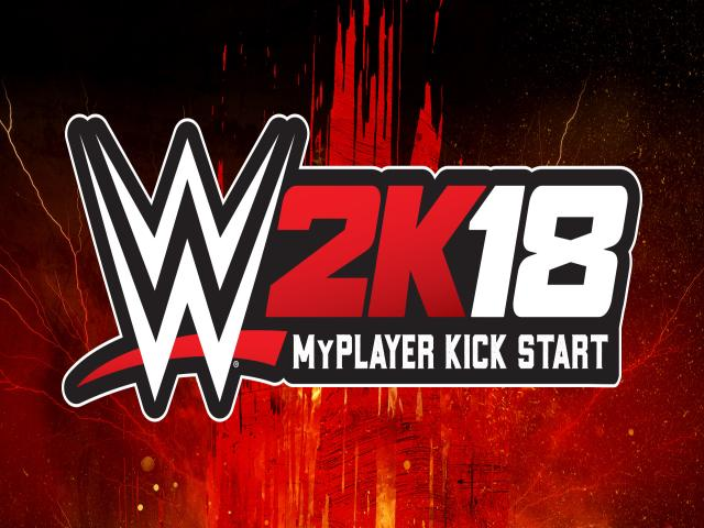 WWE 2K18 MyPLAYER Kick Start - title cover