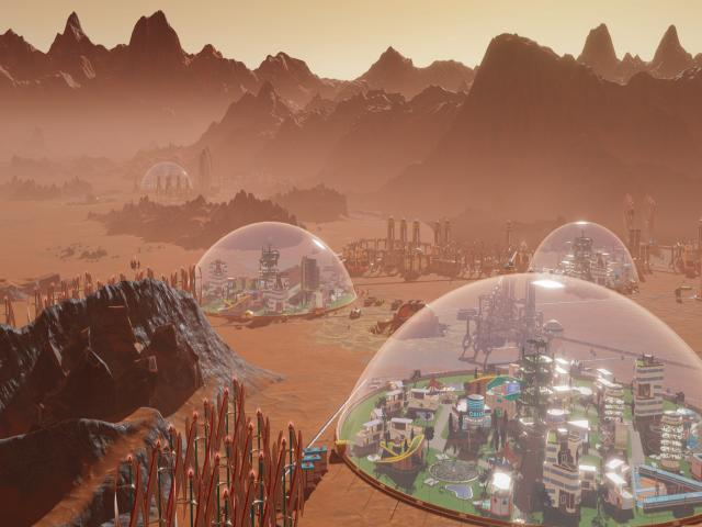 Surviving Mars - title cover